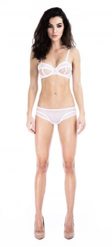 Prey White Bra