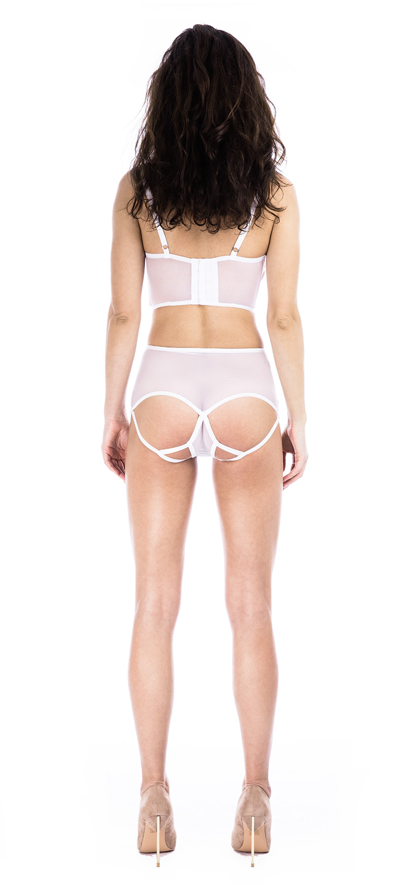 ae76c316956 Prey White High Waisted Knicker