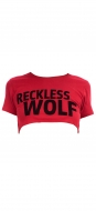 Reckless Red Crop T-shirt