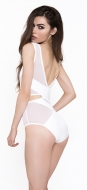 Caged White Crop Body