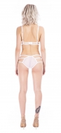 Raw White Strap Knicker