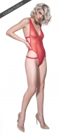 Sheer Force Red High Leg Body *Limited Edition*